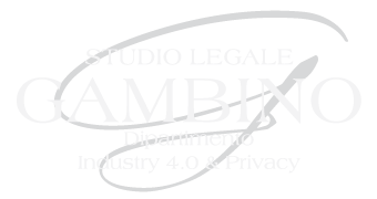 Studio Legale Gambino - GDPR
